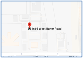 Baytown Office Map